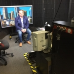 In the Melbourne ABC Studios