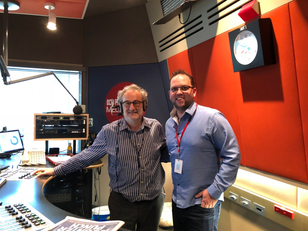 On Air with Jon Faine ABC Radio  – What did you learn from YouTube?